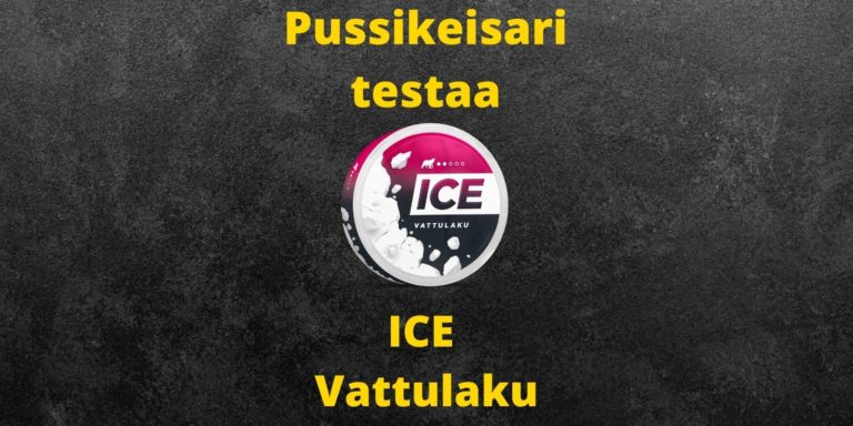 ICE – Vattulaku nikotiininuuska arvostelu