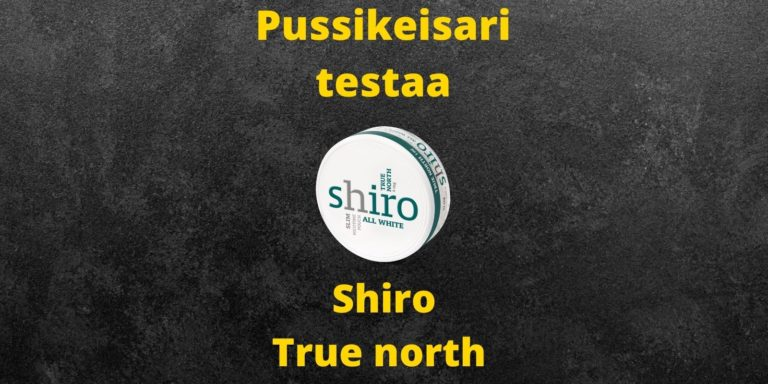 Shiro True north nikotiininuuska arvostelu