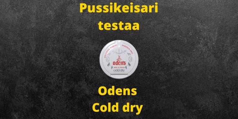 Odens cold dry arvostelu