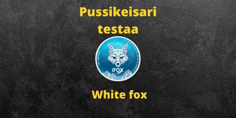White fox nikotiininuuska arvostelu