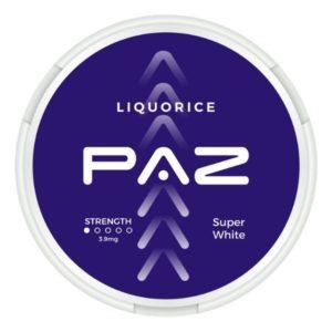 PAZ - Liquorice nikotiinipussi