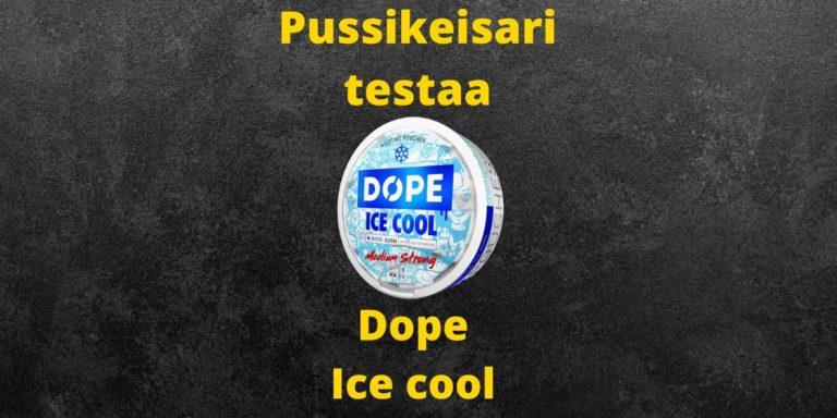 Dope – Ice cool nikotiininuuska arvostelu