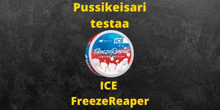 ICE – Freezereaper nikotiininuuska arvostelu