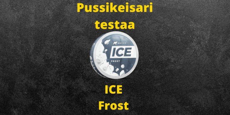 ICE – Frost nikotiininuuska arvostelu