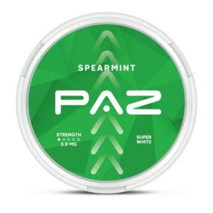 PAZ - Spearmint nikotiinipussi