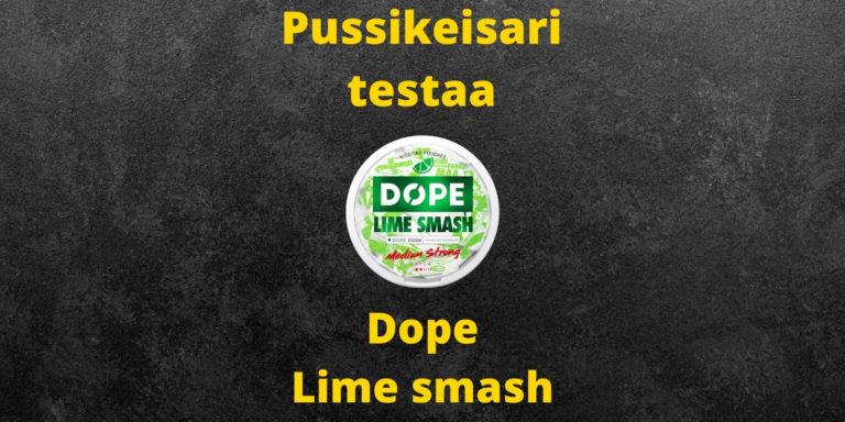 Dope – Lime Smash nikotiinipussi arvostelu